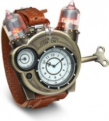 ThinkGeek Exclusive Tesla Watch with Vacuum Tube-Style LEDs - $49.99