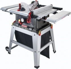 Craftsman 10 Inch Table Saw With Laser Trac With Free Shipping