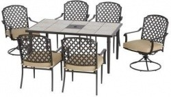 Amazing Home Depot Has The Hampton Bay Marysville 7 Piece Patio Dining Set With  Beige Cushions For $399.00. You Will Also Get Free Shipping On This Item.