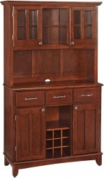 Home Styles Buffet of Buffets with Hutch in Cherry - $190.00 Shipped Free