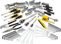 Stanley 210-Piece Tool Set with Custom Storage Case - $99.00 w/ Prime