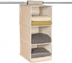 GearXS Via EBay Has The Hanging Collapsible 3 Section Space Saver Closet  Organizer For $5.99. You Will Also Get Free Shipping On This Item.