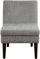 Threshold Plymouth Modern Slipper Chair, Black & Cream Texture - $129.99