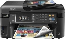 Epson WorkForce WF-3620 Wireless All-in-One Printer - $69.99 Shipped