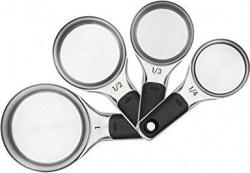 OXO Good Grips Stainless Steel Measuring Cups w/ Magnetic Snaps - $14