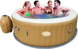 Bestway SaluSpa Palm Springs AirJet Inflatable 6-Person Hot Tub - $295.99