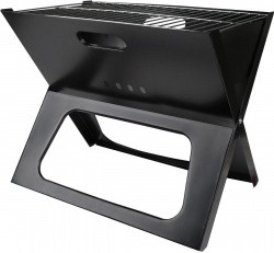 Portable Compact Charcoal BBQ Grill & Smoker - $24.99 w/ Free Shipping